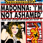 Andy Warhol e Keith Haring - Untitled (Madonna, I'm Not Ashamed) - 1985 - Collection Keith Haring Foundation, New York
