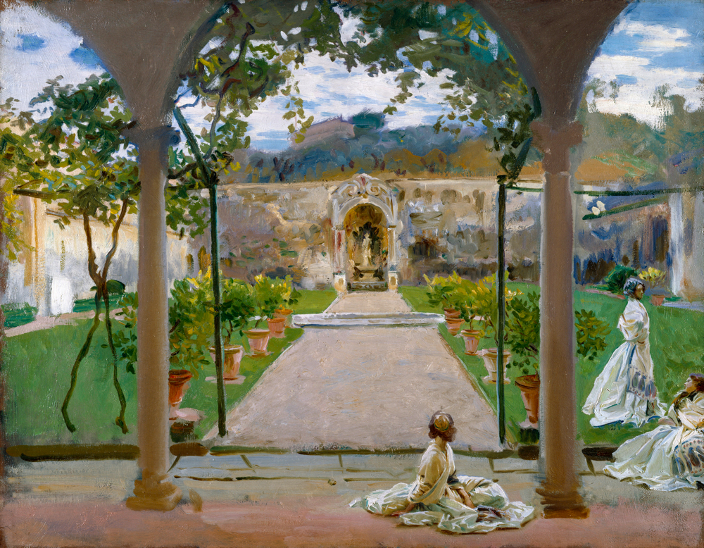 John Singer Sargent - A Torre Galli: signore in giardino - 1910 - Londra, The Royal Academy of Arts