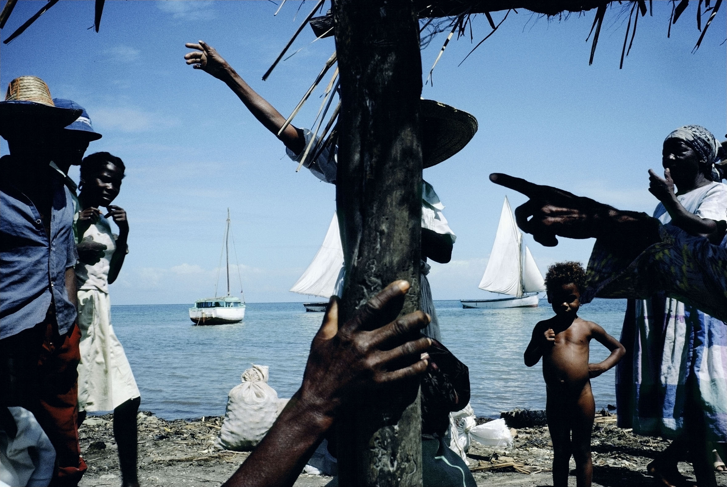 Alex Webb - Haiti - 1986 - ©Alex Webb/Magnum - Photos/Contrasto