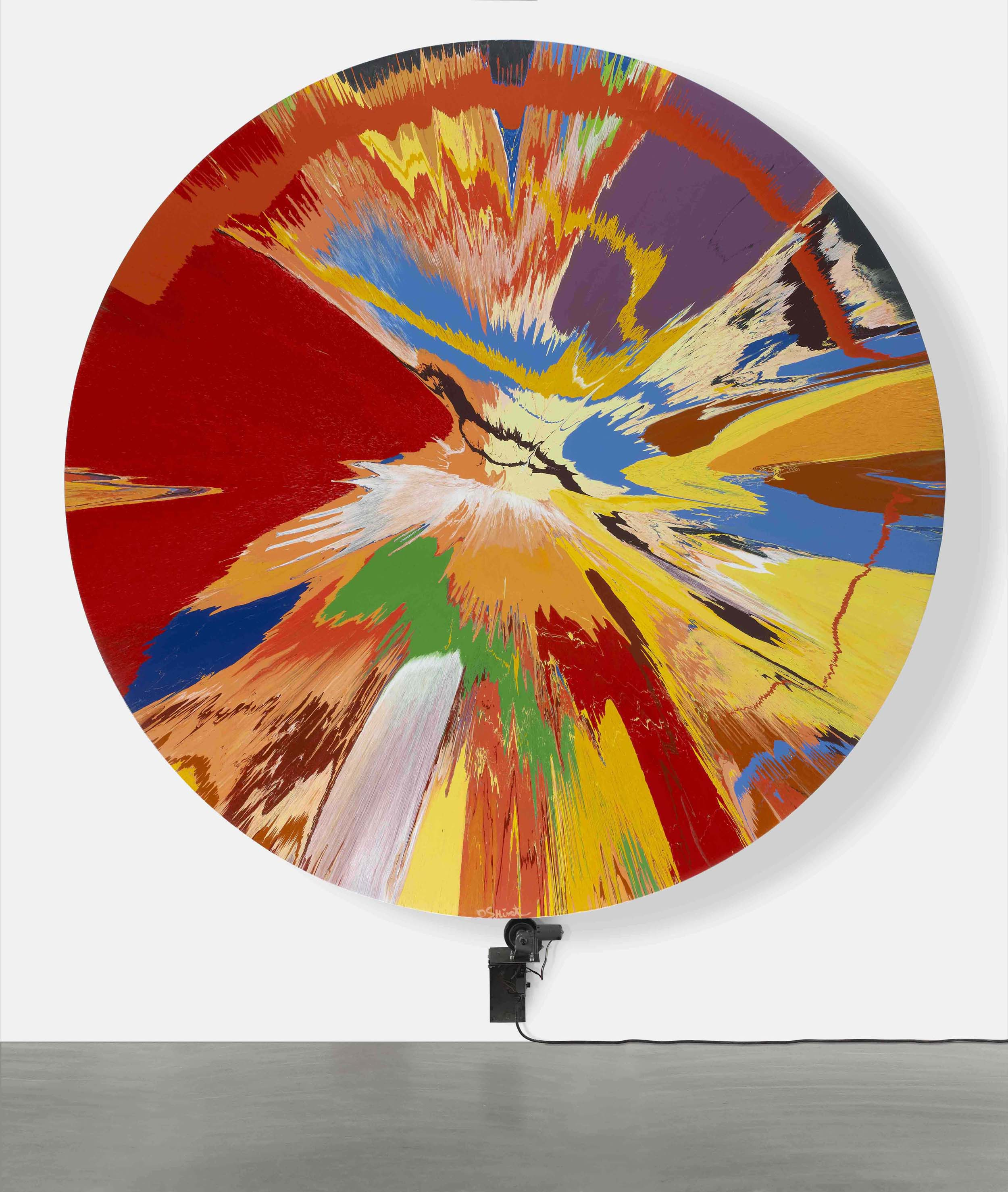 Damien Hirst - Beautiful, childish, expressive, tasteless, not art, over simplistic, throw away… - 1996
