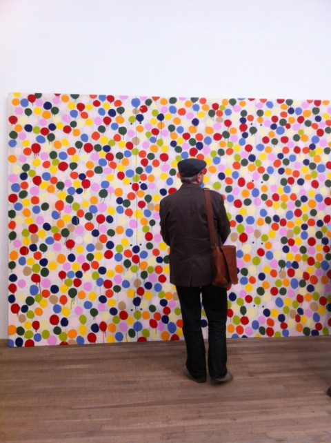 Damien Hirst - Spot Painting - 1986