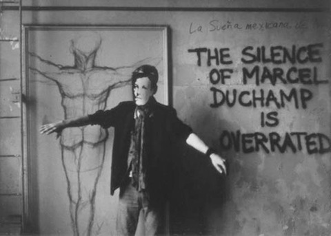David Wojnarowicz - Arthur Rimbaud in New York (Duchamp), 1978–79