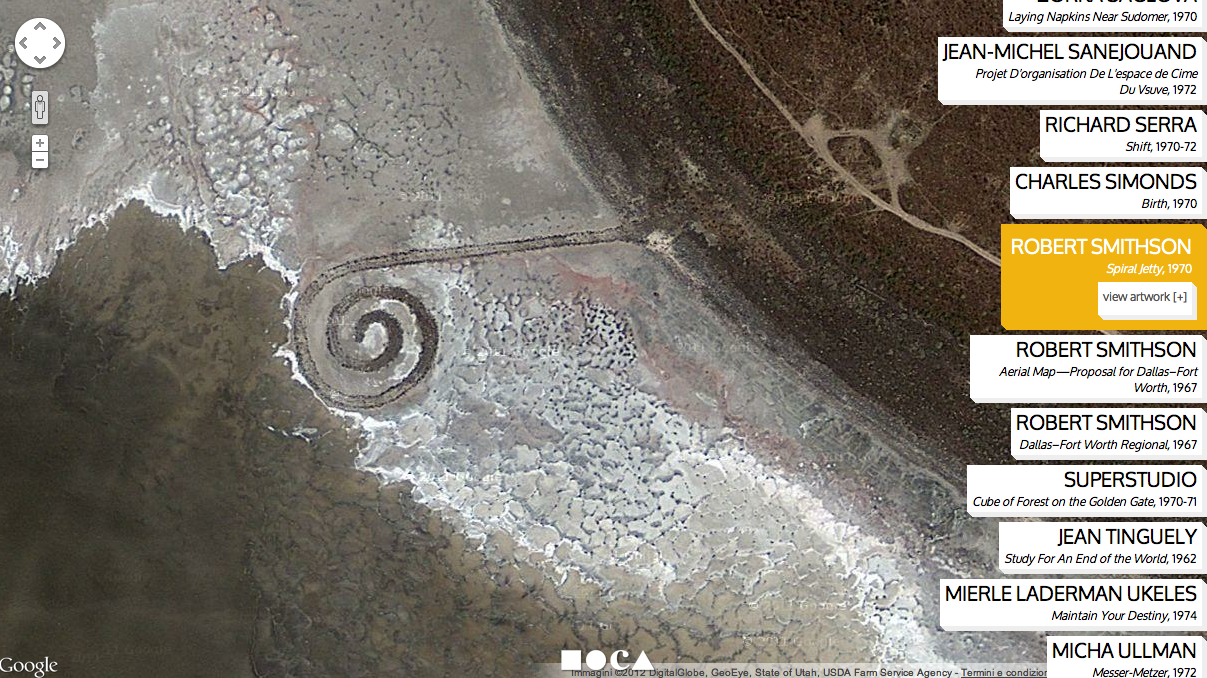 Ends of the Earth - Robert Smithson, Spiral Jetty