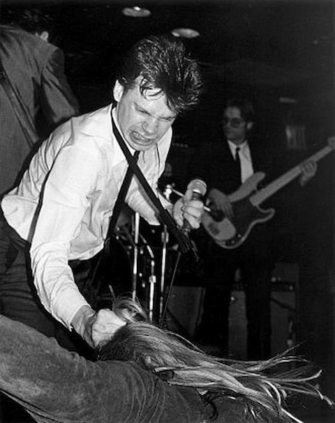 James Chance e i Contortions al Max's Kansas City, 1979