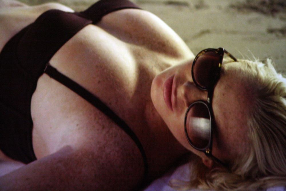 Lindsay Lohan in First Point, di Richard Phillips (foto Marco Annunziata) 2