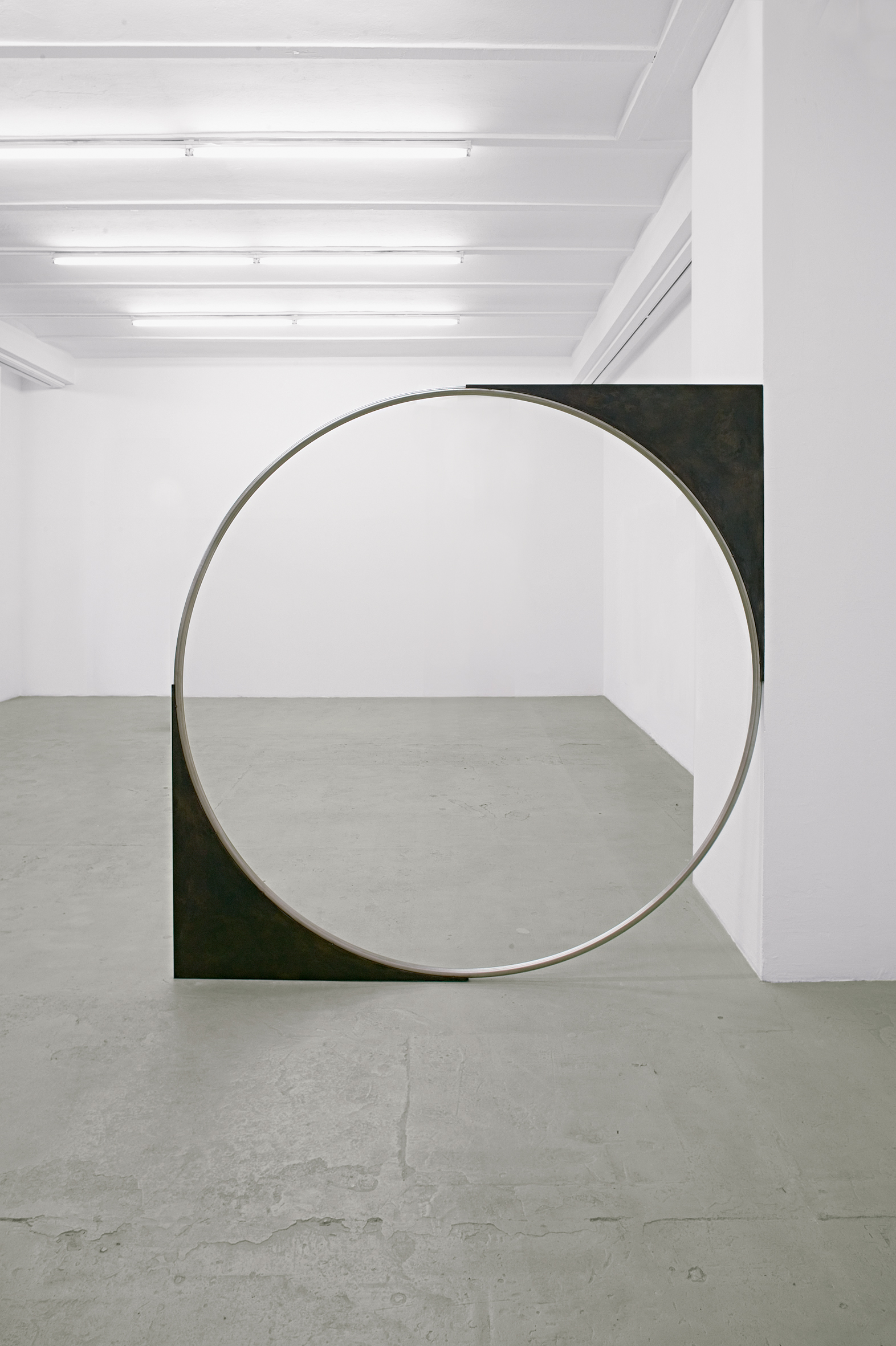 Nicole Wermers - Untitled Forcefield (Single Ring) - 2007 - courtesy l'artista e Accademia Tedesca Villa Massimo, Roma