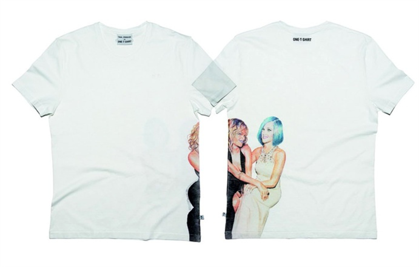 Rihanna e Katy Perry - OneTShirt by Tobias Rehberger