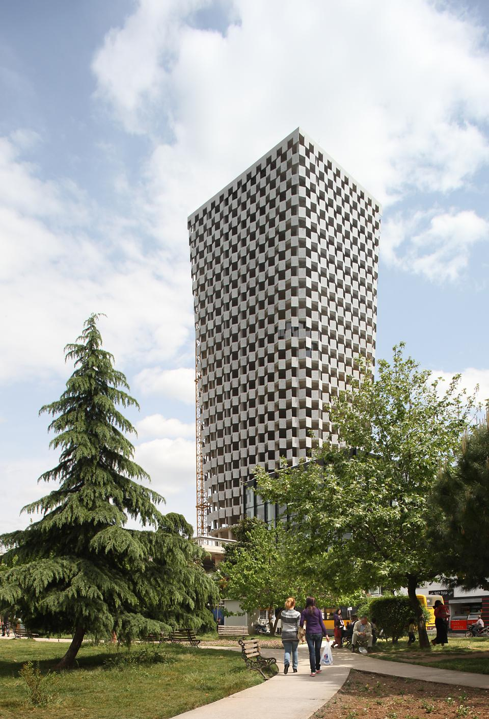 TID Tower, Tirana, 2010. Photo Filip Dujardin