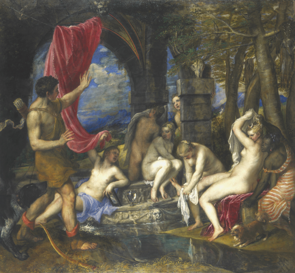 Tiziano - Diana e Atteone - 1556-59 - The National Gallery, London