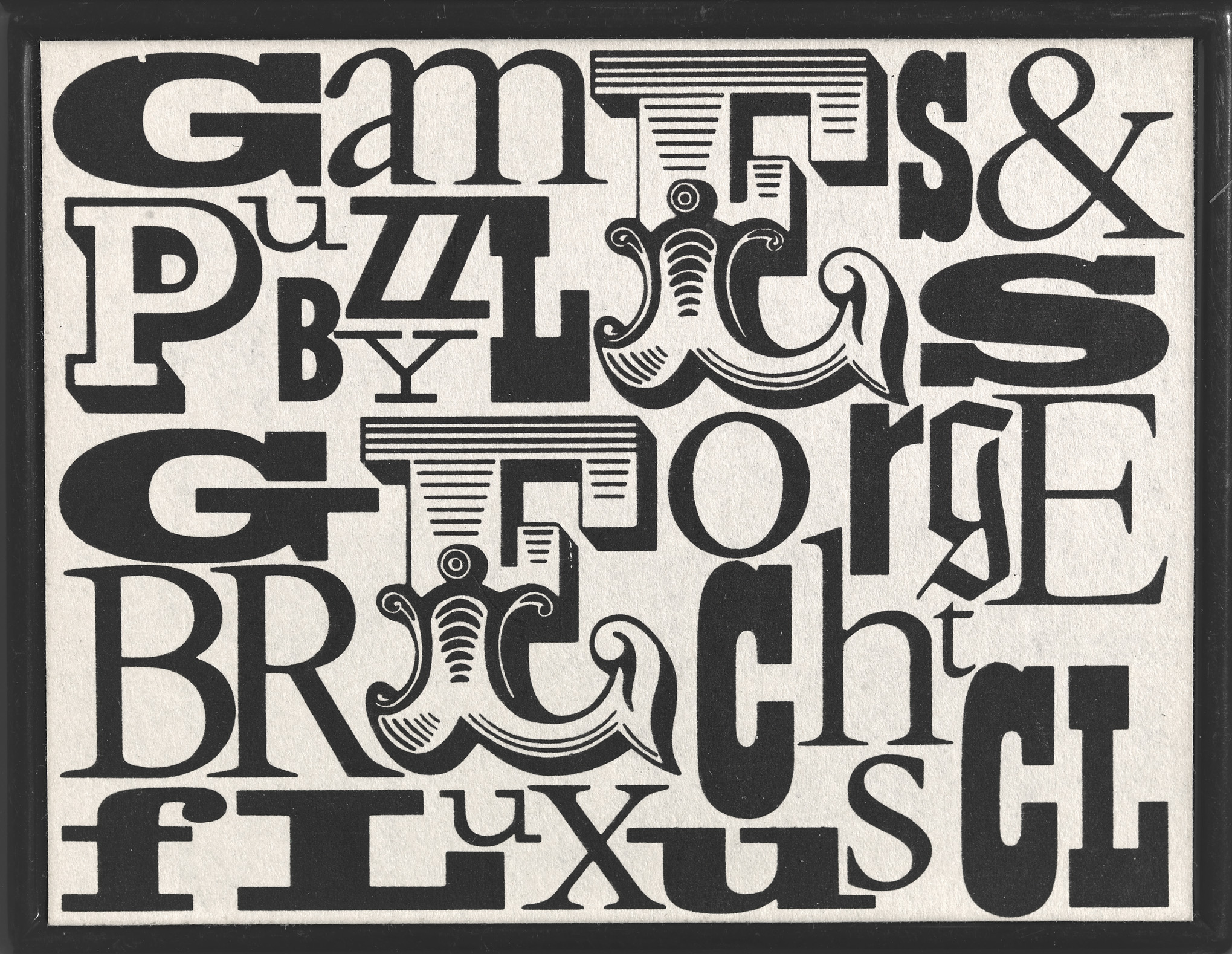 George Brecht - Ball puzzle - 1964 - collection Bonotto Archive