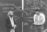 Richard Demarco e Joseph Beuys alla Free International University nel 1980
