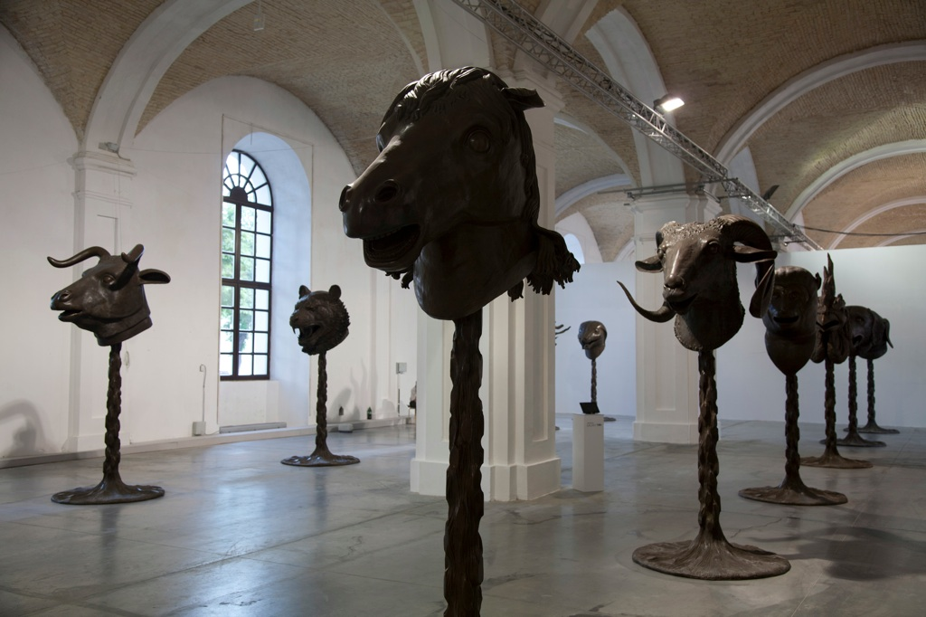 Ai WeiWei, Circle of Animals, 2012 - Yuz Collection Jakarta - Photo Maksim Belousov, Mykhaylo Chornyy