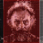 Così nasce un simili-Chuck Close )courtesy Scott Blake)