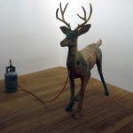 Dennis Oppenheim - Untitled. Deer - 1990