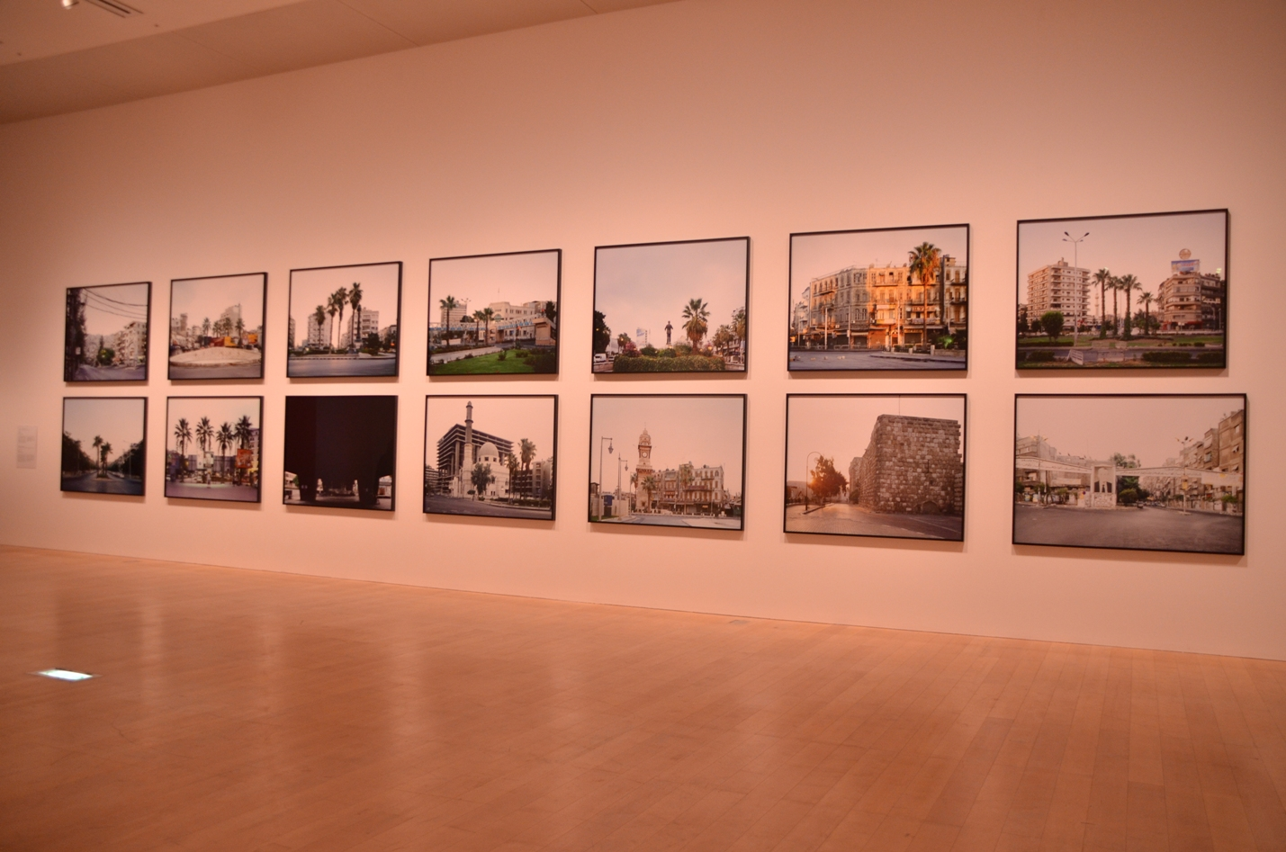 Hrair Sarkissian, Execution Squares, 2008 - The Artist and Mori Art Museum (photo Mohammed Kazem)