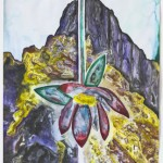 Francesco Clemente - Letters and Mountains VII - 2012