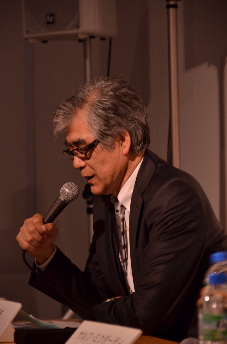 Nanjo Fumio (photo Mohammed Kazem)