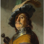 Rembrandt - A Man in a Gorget and Cap
