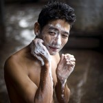 Roth - Myanmar Sailor washes face