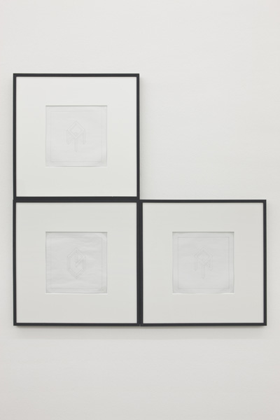 Sol Lewitt, Incomplete open cube drawing, 1974