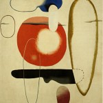 Willi Baumeister, KFLS, 1936, Olio su tela, Stoccarda, Archiv Baumeister im Kunstmuseum Stuttgart