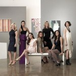 Il cast di Gallery Girls al completo