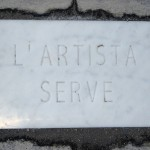Cinzia Laurelli – L'artista serve – 2012