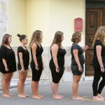 Cinzia Laurelli – 1+8+8+7=8 - performance collettiva – 2012