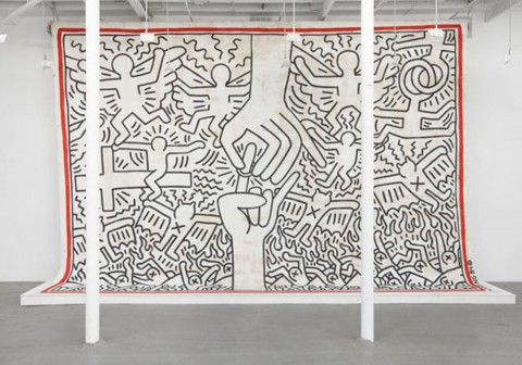 Keith Haring, The Marriage of Heaven and Hell, 1984