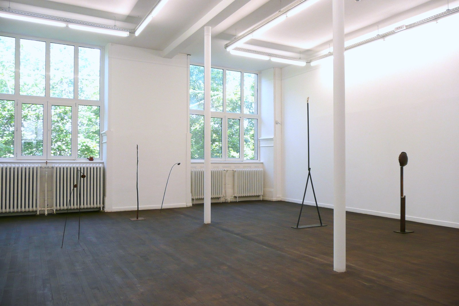 Luca Francesconi, Echo of the Moon solo show, installation view, Crac-Alsace, 2012 2