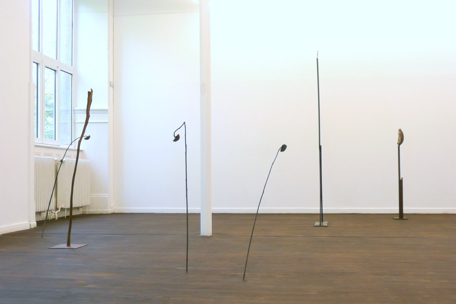 Luca Francesconi, Echo of the Moon solo show, installation view, Crac-Alsace, 2012 5
