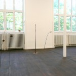 Luca Francesconi, Echo of the Moon solo show, installation view, Crac-Alsace, 2012 6