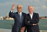 Paolo Baratta e David Chipperfield - courtesy la Biennale di Venezia - photo Giorgio Zucchiatti