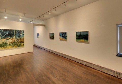 Un interno della Sue Scott Gallery