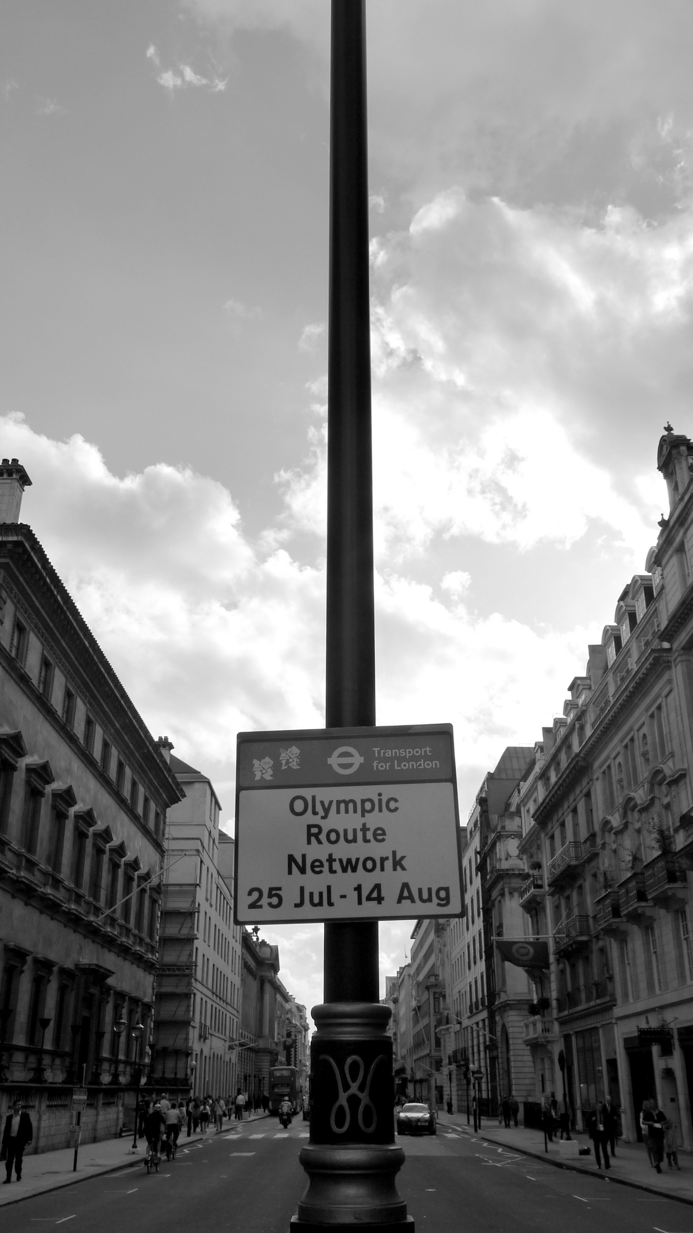 olympics route network. Pall Mall (foto Martina Federico)