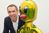 Jeff Koons alla Fondation Beyeler nel 2012 con Titi - 2004-09 -  Jeff Koons - photo  Matthias Willi
