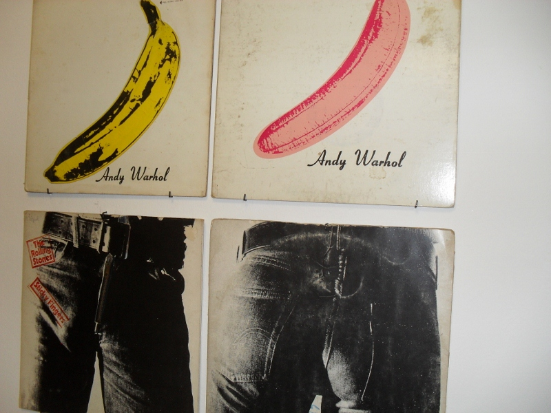 Andy Warhol - A collection of records
