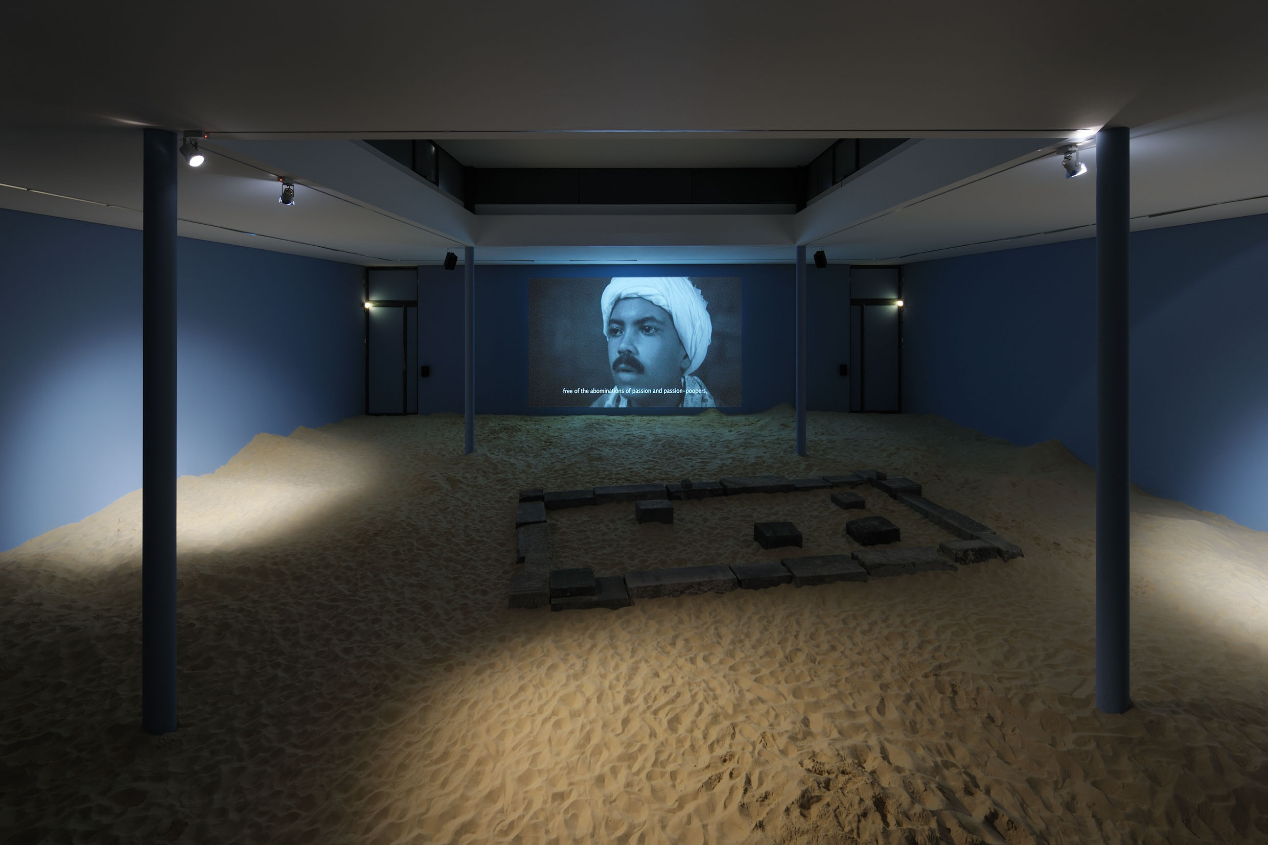 Wael Shawky, Al Araba Al Madfuna, 2012, video - courtesy the artist - foto Uwe Walter