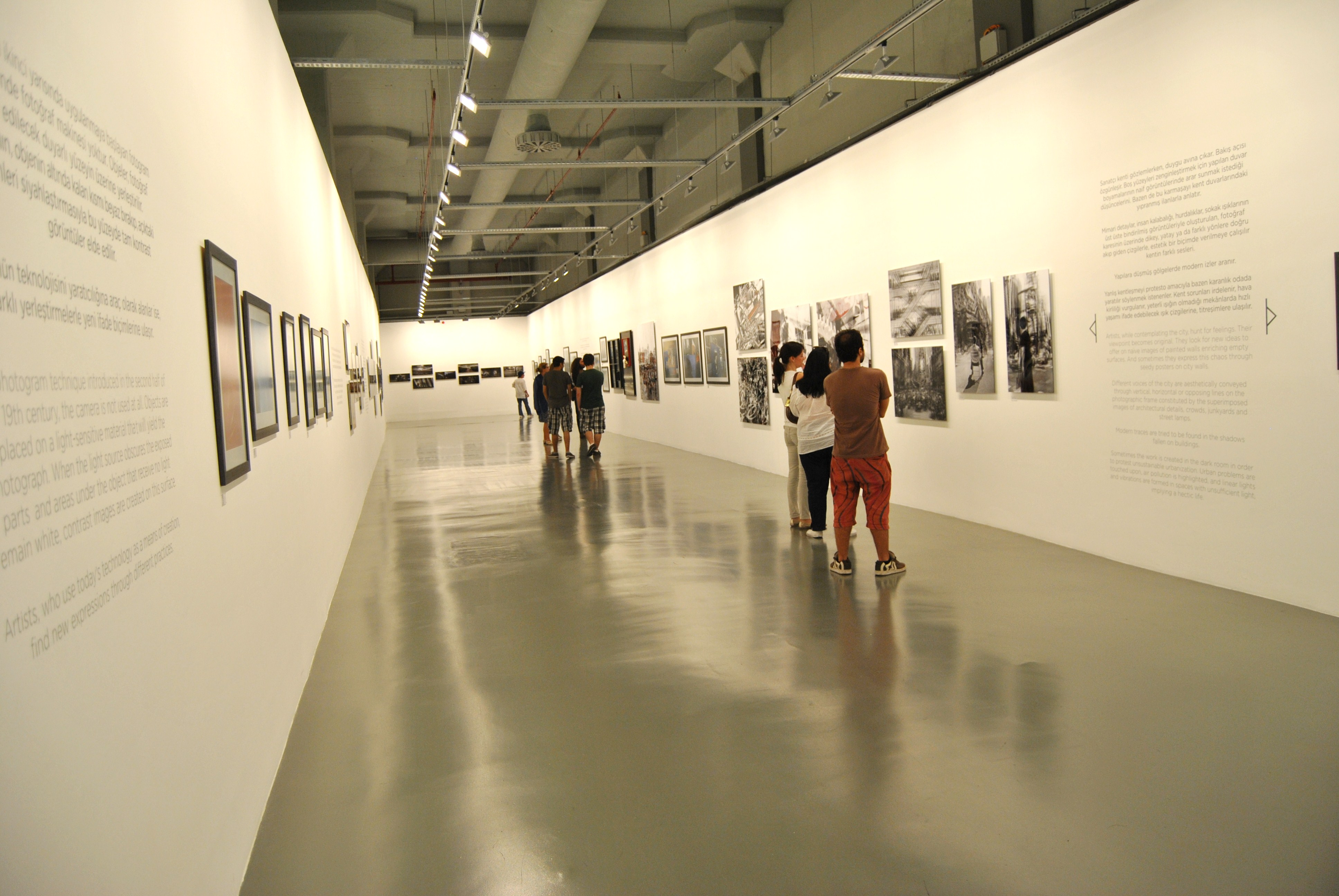 After Yesterday - veduta della mostra presso l'Istanbul Modern, Istanbul 2012