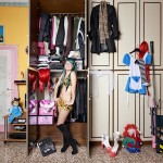 Pietro Baroni, Milan closets, 2012 (Denise, cosplayer. She's a secretary too)