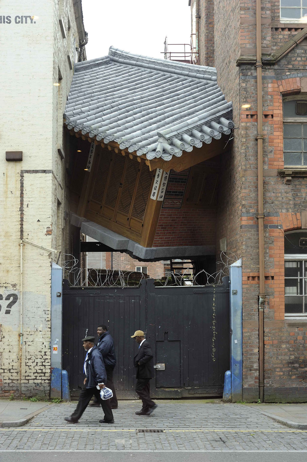 Do Ho Suh - Bridging Home - commissioned by Liverpool Biennial for Touched - 2010
