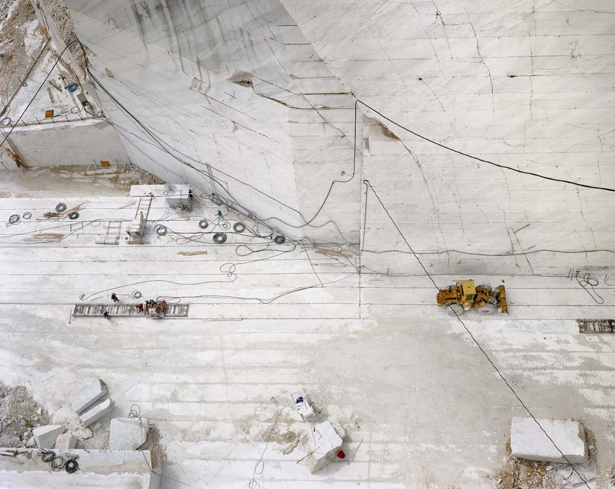 Edward Burtynsky - Carrara Marble Quarries # 24
