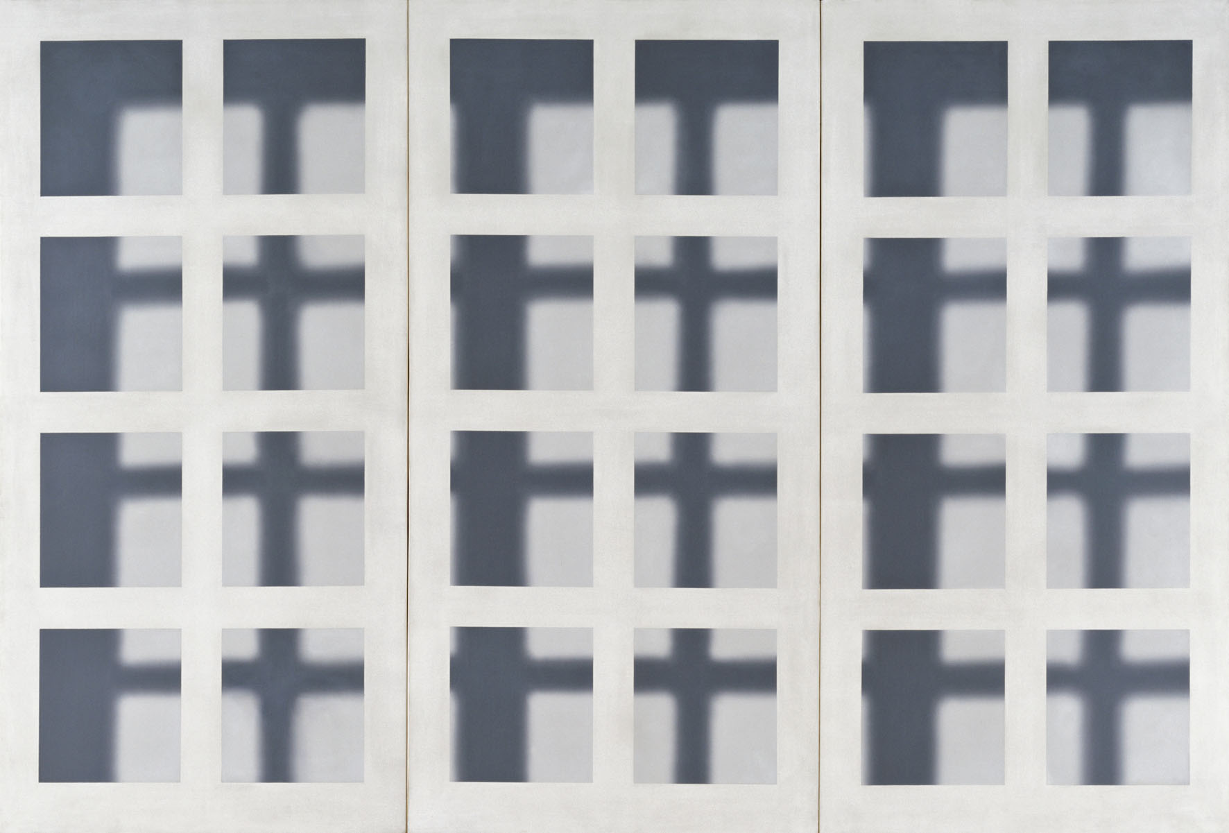 Gerhard Richter - Fenstergitter - 1968 - Ludwig Museum-Museum of Contemporary Art, Budapest