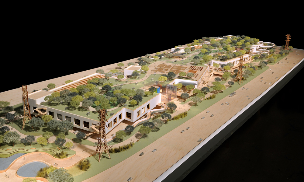 Il progetto di Gehry per i Facebook headquarters (foto Frank Gehry)