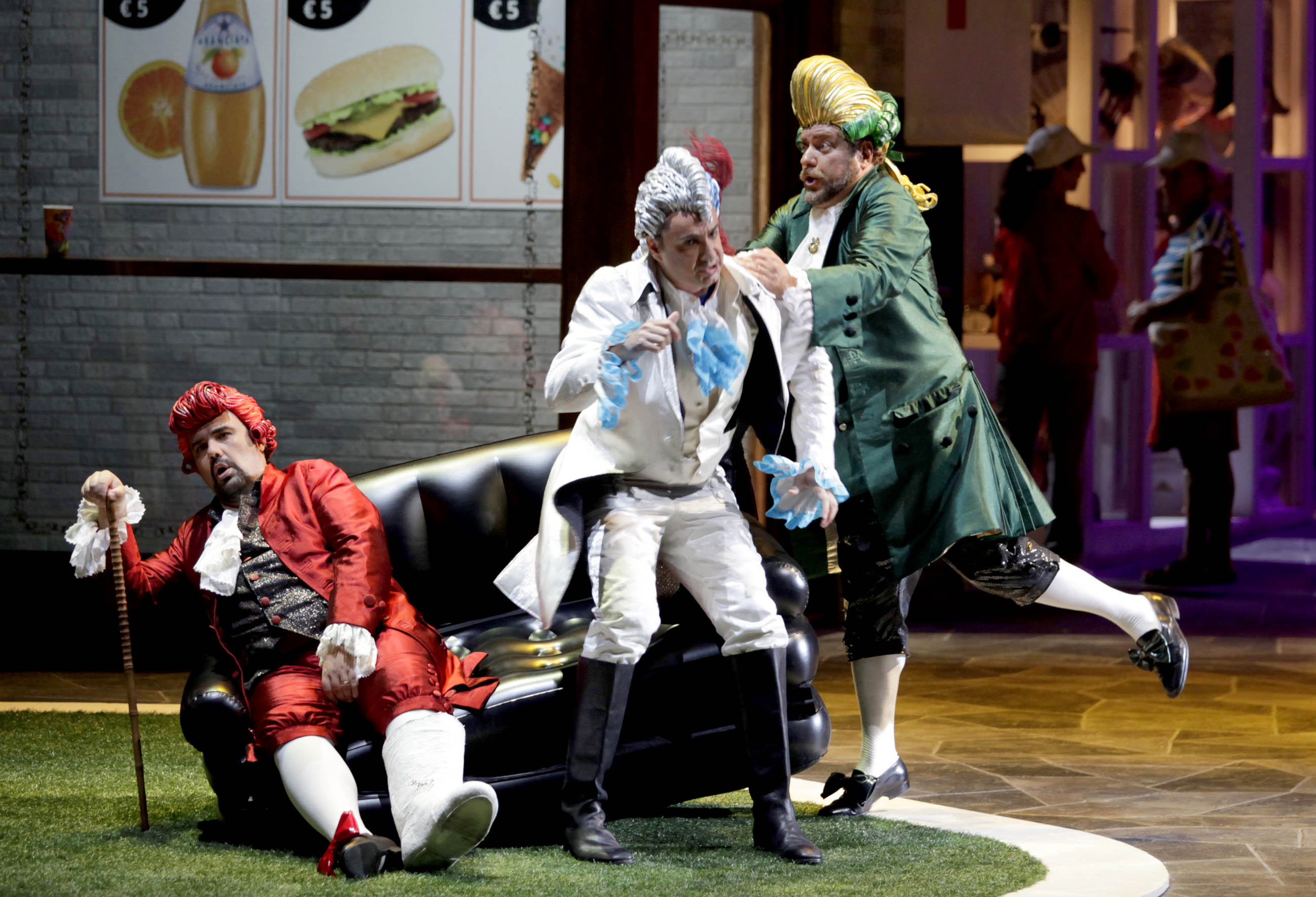 Gioacchino Rossini - Il Signor Bruschino - regia di Teatro Sotterraneo - photo Amati Bacciardi