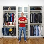 Pietro Baroni, Milan closets, 2012 (Massimiliano, journalist. He reads a lot and he likes fitness)
