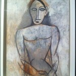 Picasso a Palazzo Reale, Milano, 2012 - Femme aux mains jointes