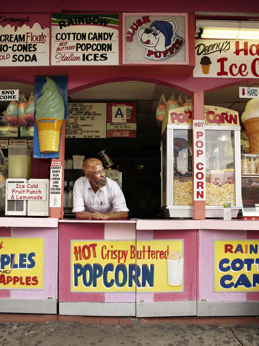 Reed Young, See You at Coney Island, 2012, jet print su carta fotografica, 08