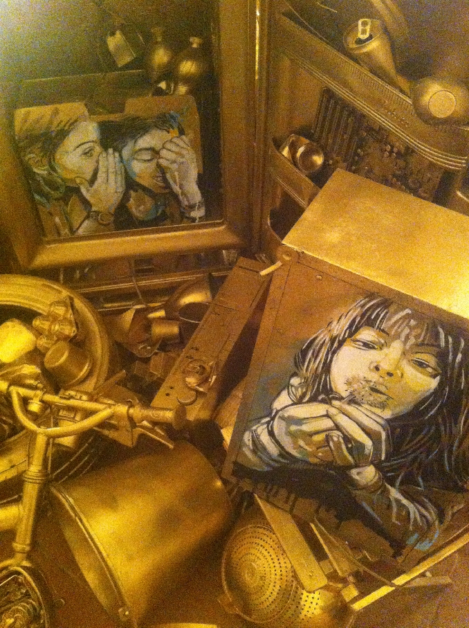 Revolution starts in the street - Alice Pasquini