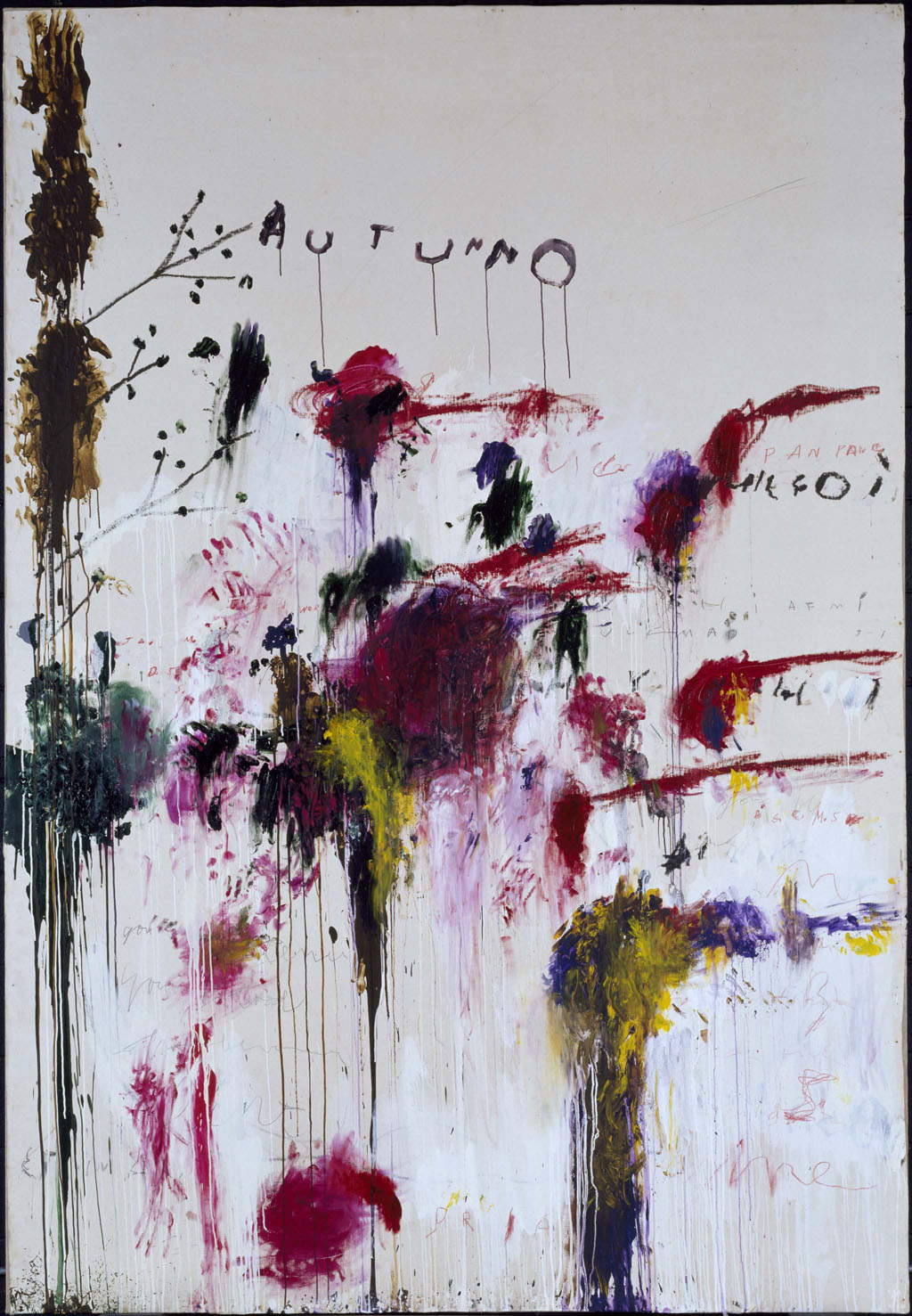 Cy Twombly - Quattro Stagioni: Autunno - 1993-95 - © Cy Twombly